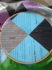 Dark blue for Collage and Reflective Bookmaking