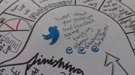 handout 11 colours social media
